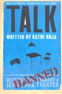 'Talk' by Kathe Koja