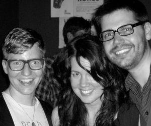 Billey, Tara, & Matt of Que(e)ry. Photo: Tara White