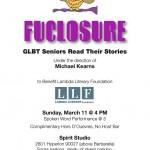 Fuclosure: Gay Seniors Read Their Stories