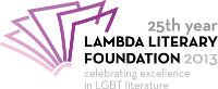 25th Annual Lambda Literary Awards 200x81