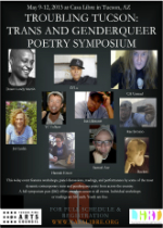 Troubling Tucson: Trans and Genderqueer Poetry Symposium