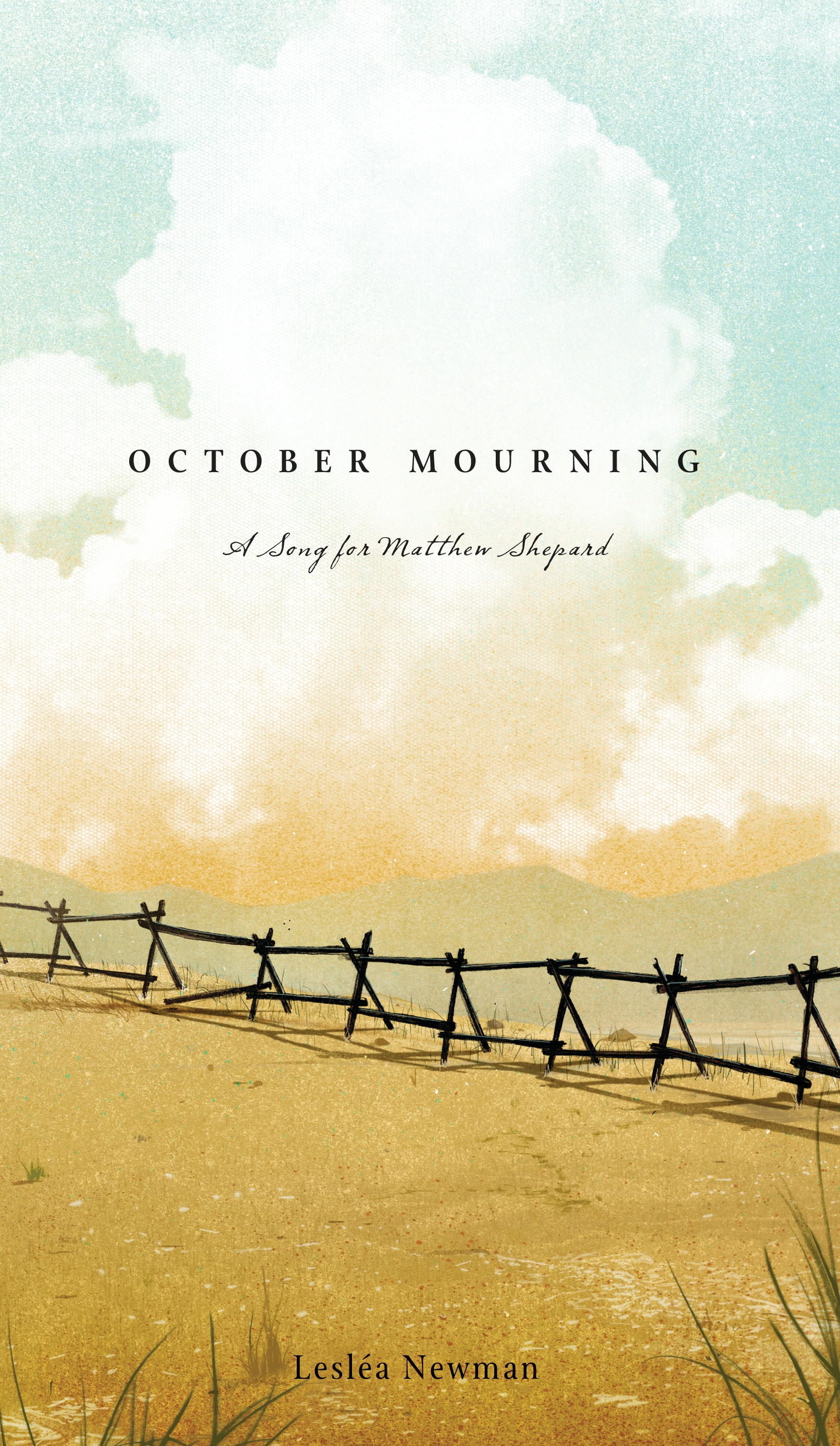 Reading from 'October Mourning: A Song for Matthew Shepard'
