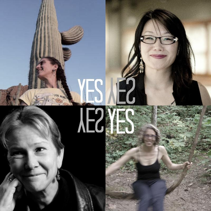 Yes, Yes: Cole Swensen, Anna Maria Hong, Emily Abendroth, and Jen Hofer read at Unnmaeable Books