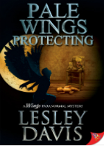 'Pale Wings Protecting' by Lesley Davis