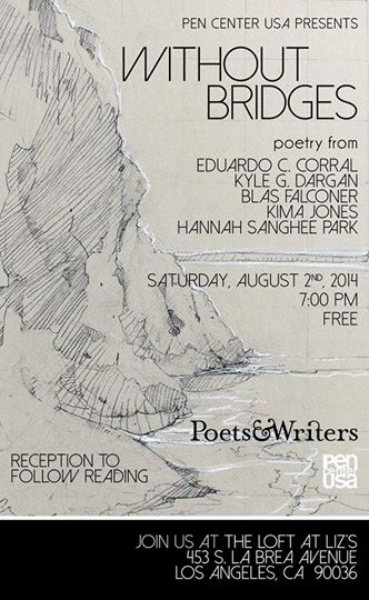Without Bridges: Poetry from Eduardo Corral, Kyle Dargan, Blas Falconer, Kima Jones and Hannah Sanghee Park