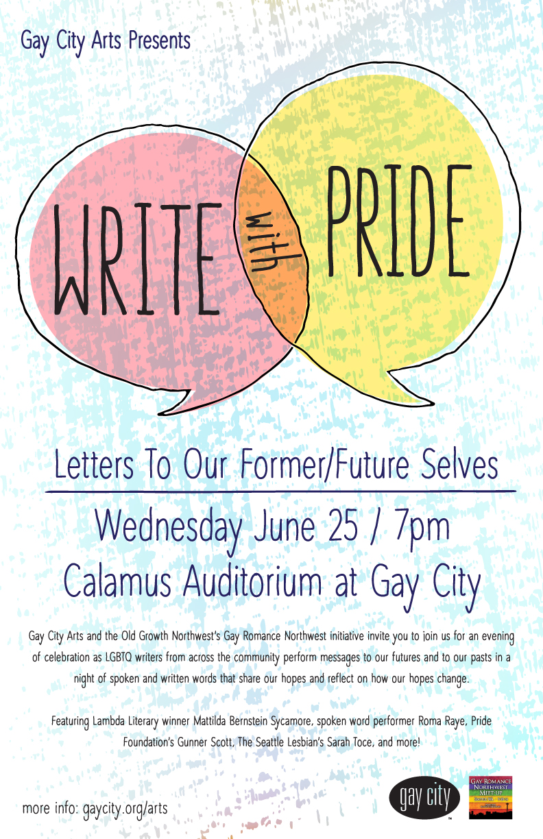 Write with Pride: An Evening Celebrating LGBTQ Writers