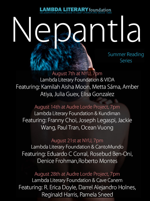 'Nepantla' Summer Reading Series