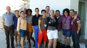 The fiction cohort at this year's Writers Retreat for Emerging LGBT Voices
