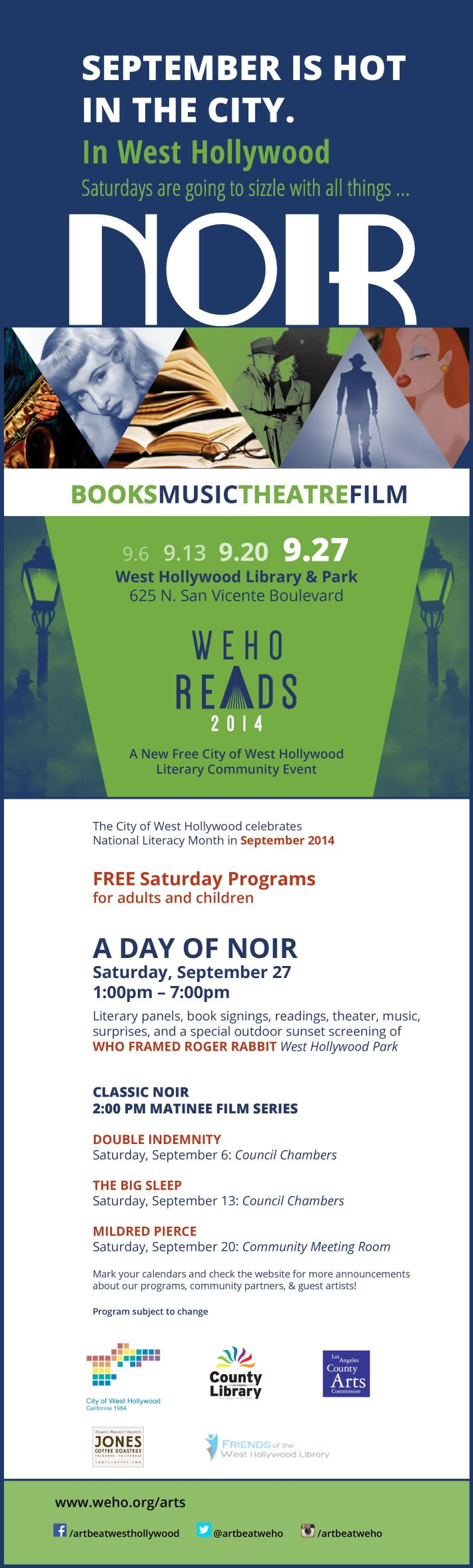 WeHo Reads: Noir