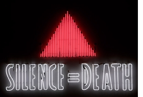 Silence = Death, 1986 (Gran Fury)