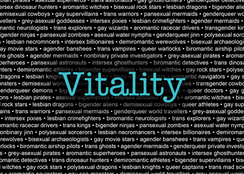 Call for Submissions: Vitality Magazine