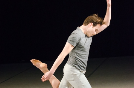 Ian Spencer Bell Dances 'Geography Solos' at Poetry Foundation
