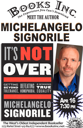 Michelangelo Signorile at Books Inc. in The Castro