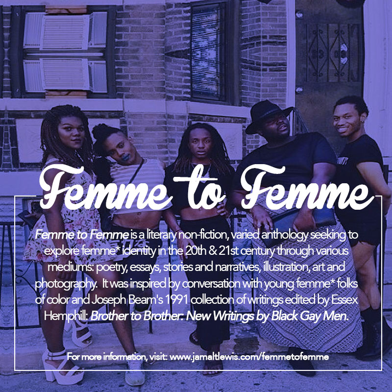 Call for Submissions: Femme to Femme
