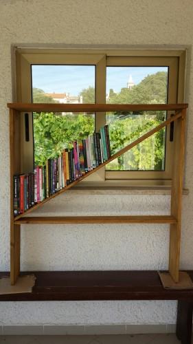 Queer bookshelf in Istria