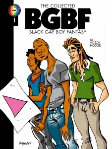'The Collected Black Gay Boy Fantasy #1' by Victor Hodge image