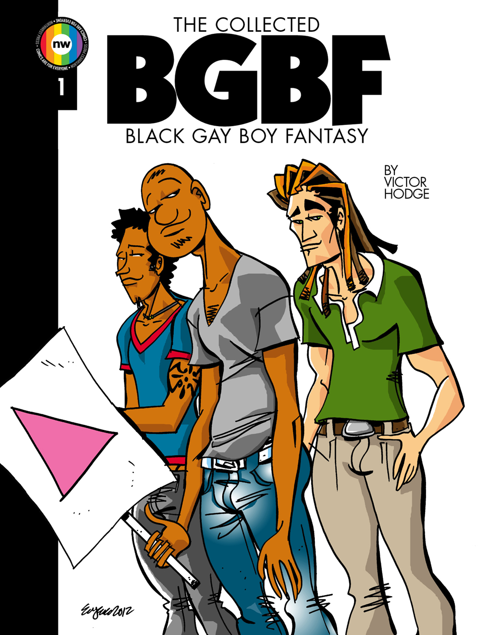 'The Collected Black Gay Boy Fantasy #1' by Victor Hodge