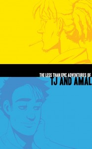 'The Less Than Epic Adventures of TJ and Amal' by E.K. Weaver image