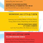 Emerging LGBTQ Voices LA Reading Series