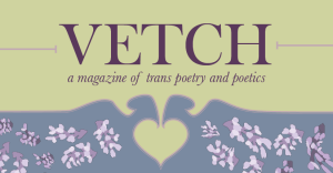 A Look at 'Vetch' a Magazine for Trans Poetry and Poetics image