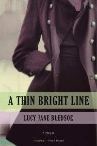 'A Thin Bright Line' by Lucy Jane Bledsoe image