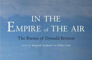 'In the Empire of the Air: The Poems of Donald Britton' Edited by Reginald Shepherd and Philip Clark image