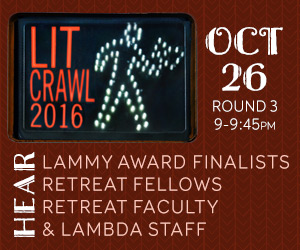 Lambda Literary at LitCrawl!