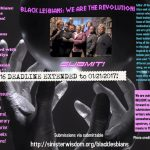 Call for Submissions: Black Lesbians: We are the Revolution