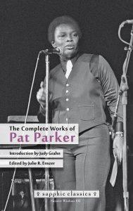 'The Complete Works of Pat Parker' Edited by Julie R. Enszer image