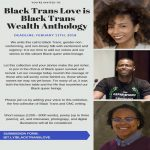 Call for Submissions: Black Trans Love Is Black Wealth