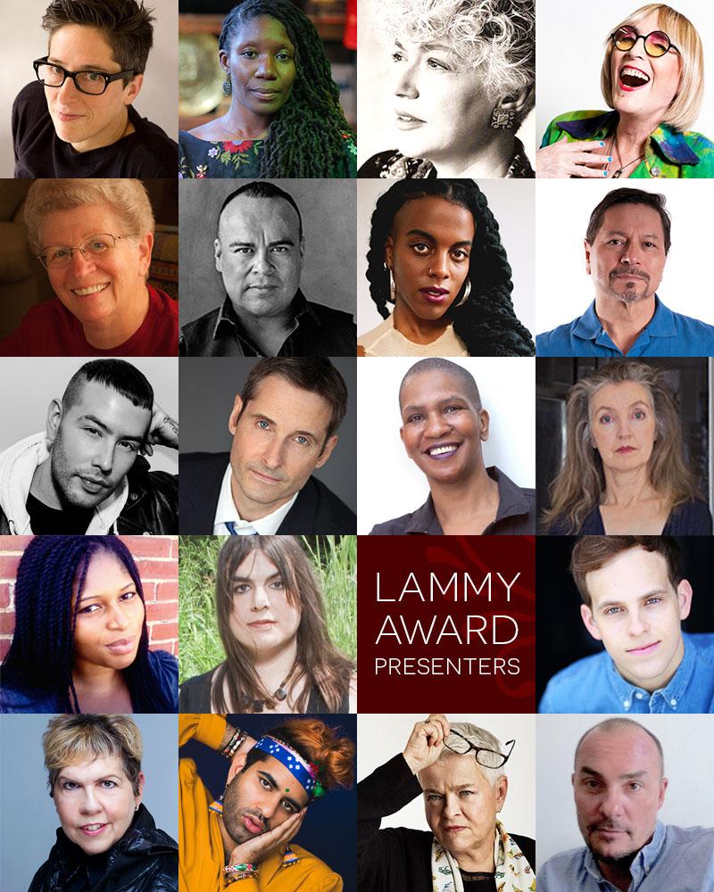 Montage of Lammy Award Presenters