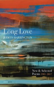 'Long Love: New & Selected Poems (1985- 2017)' by Judith Barrington image