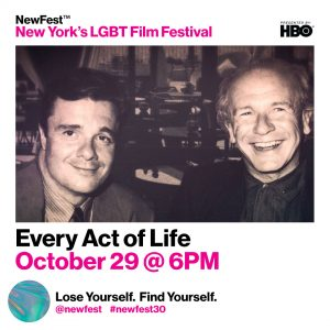 Watch this Terrence McNally Documentary! 'Every Act of Life' Presented by NewFest image