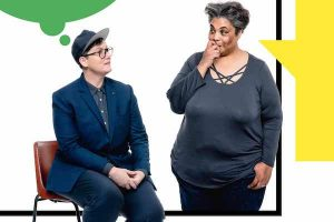 Hannah Gadsby and Roxane Gay Meet in LA, David Sedaris Sells His Archive, and More LGBTQ News image
