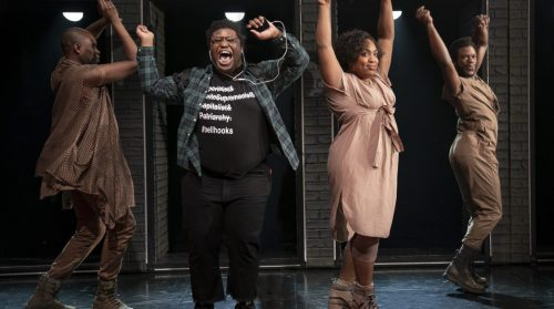 Production photo from A Strange Loop at Playwrights Horizons.
