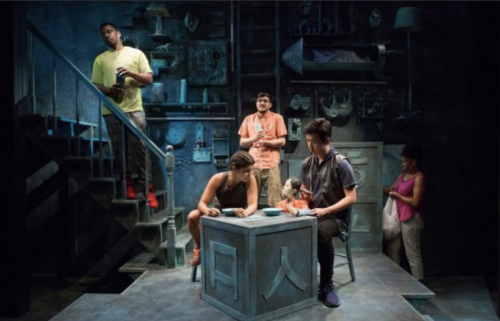Production photo from Wolf Play