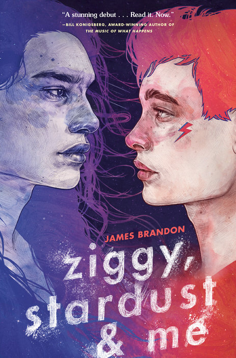Ziggy, Stardust and Me by James Brandon -- Lambda Literary