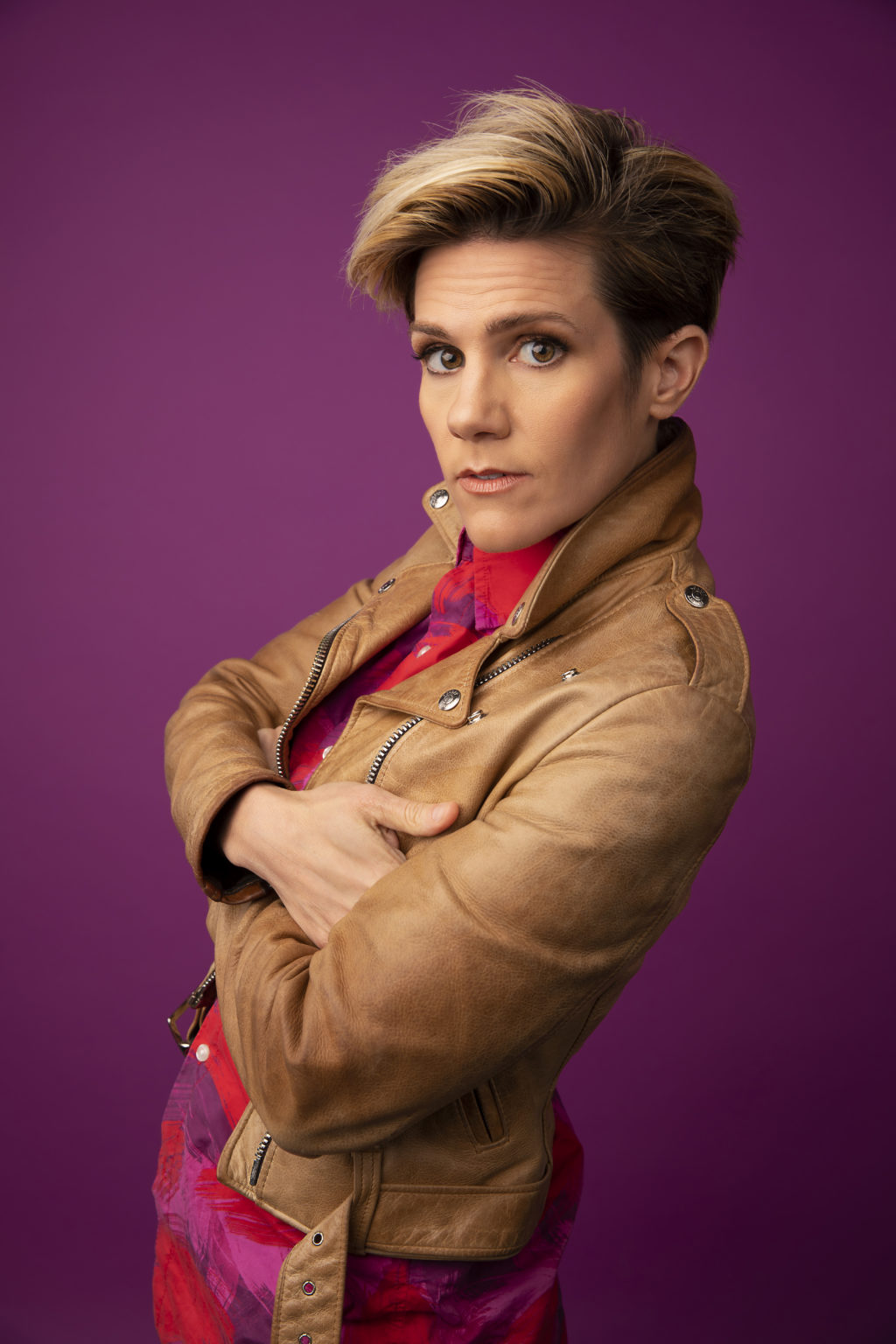 Cameron Esposito on Loving Her Younger Goofy Self image