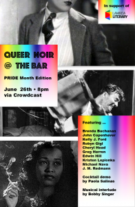 Join us! LGBTQ Crime Writers Throw a Benefit for Lambda Literary! image