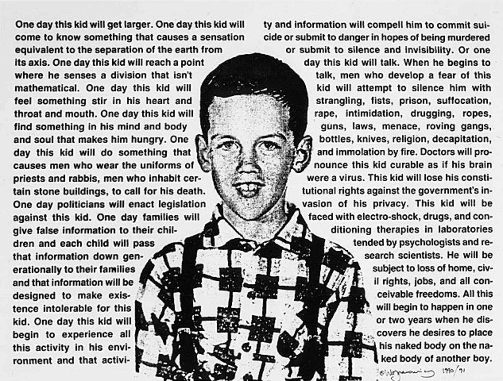 David Wojnarowicz's Writing Offers a Call to Action