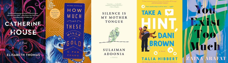 2021 Lambda Literary Awards Bisexual Fiction finalists