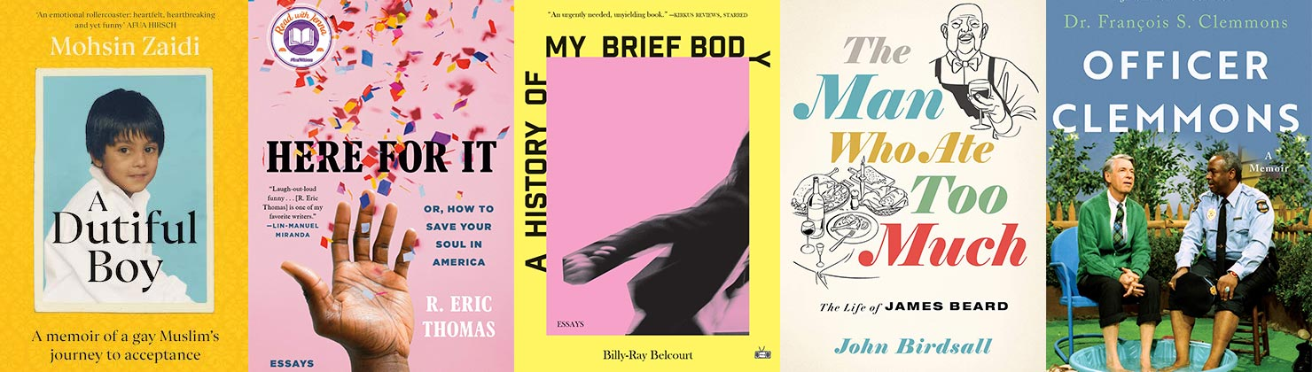 2021 Lambda Literary Awards Gay Memoir/Biography finalists