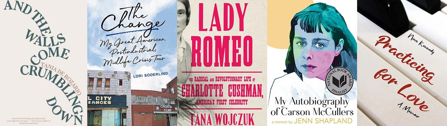 2021 Lambda Literary Awards Lesbian Memoir/Biography finalists