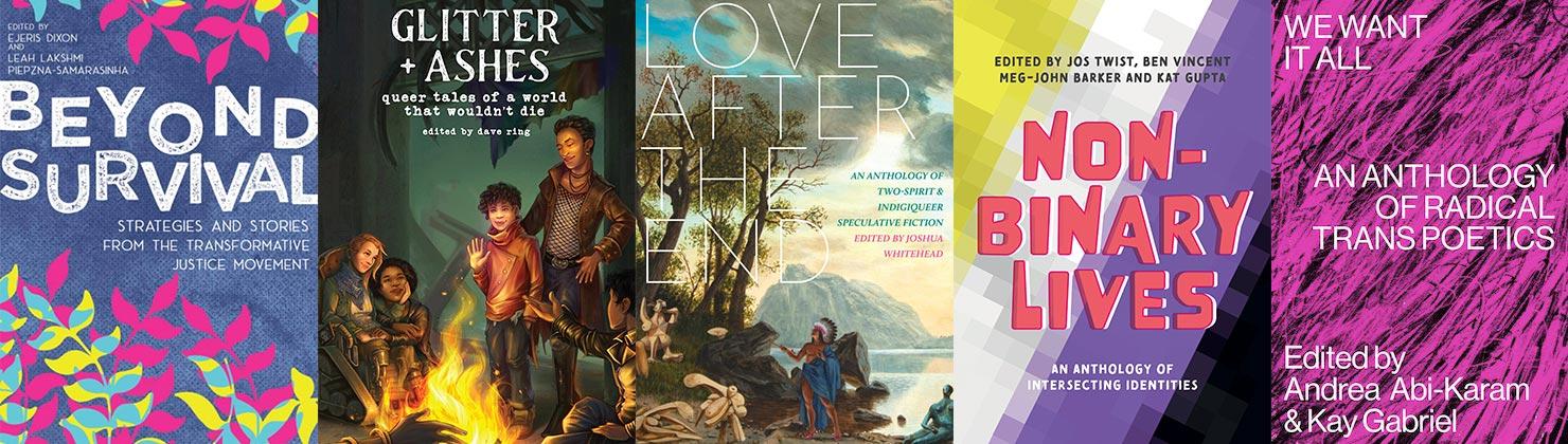 2021 Lambda Literary Awards LGBTQ Anthology finalists