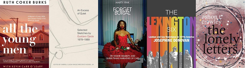 2021 Lambda Literary Awards LGTBQ Nonfiction finalists